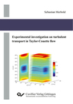 Experimental investigation on turbulent transport in Taylor-Couette flow
