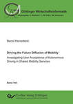 Driving the Future Diffusion of Mobility